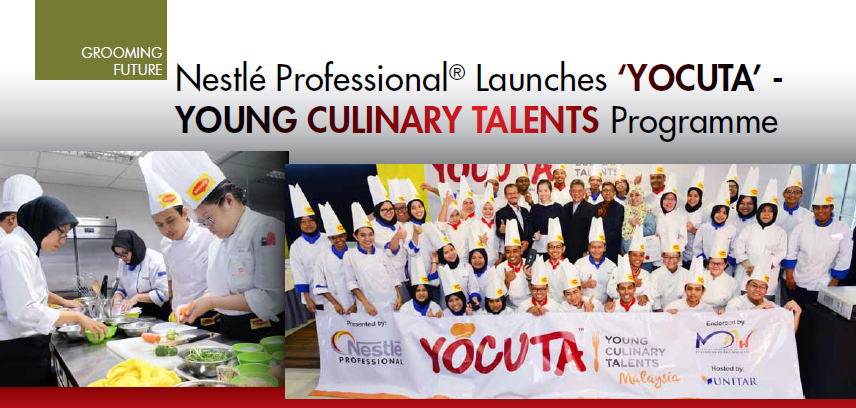 Nestlé Professional® Launches 'YOCUTA' – YOUNG CULINARY TALENTS Programme