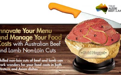 Innovate Your Menu and Manage Your Food Costs with Australian Beef and Lamb Non-Loin Cuts