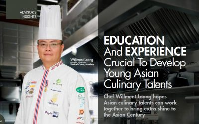 EDUCATION And EXPERIENCE Crucial To Develop Young Asian Culinary Talents